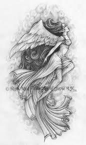 japanese angel tattoos design tattoomagz