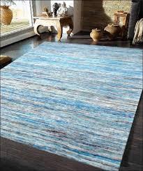 Sari Silk Rugs by Handwoven Sari Silk Rug Chocho 1026 Aqua Blue U2013 Rugs Of Beauty