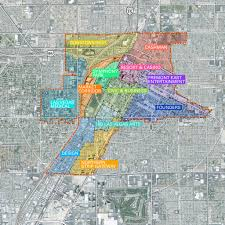 Las Vegas Tram Map Vision Lv Downtown Masterplan