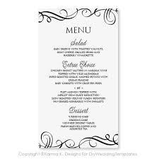 31 best menu images on pinterest wedding menu cards wedding