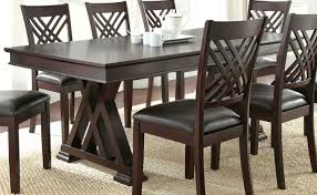 dining table room ideas espresso counter high dining table