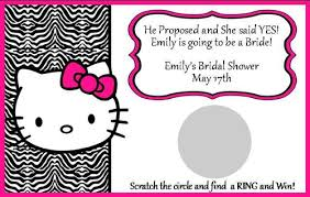 personalized kitty bridal shower scratch game 12