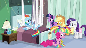 image rainbow and friends in hospital room s4e10 png my little