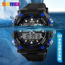 Jam Tangan G Shock Pria Original jual jam tangan pria original casio led skmei g shock oulm swissarmy