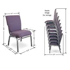 Normal Chair Dimensions Mccourt Auditorium Padded Stack Chair 105x0 Wooden And Metal
