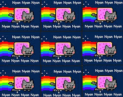 Nyan Cat Meme - nyan cat party invitations google search nyan cat pinterest