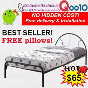 Single Metal Bed Frame Sale Qoo10 Bed Frame Items On Sale Q Ranking Singapore No 1