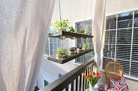 diy hanging planter herb garden video withheart