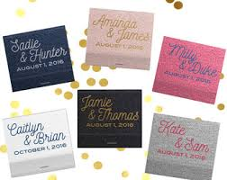 wedding matchbooks wedding matchbooks etsy