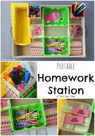 kids homework station diy homework station idea