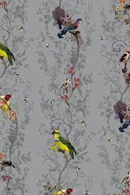 timorous beasties wallcoverings birds n bees wallpaper