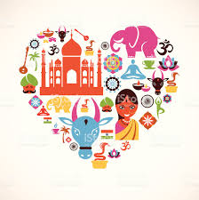 heart with india vector icons stock vector art 153099461 istock