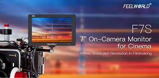 feelworld f7s 7 inch 3g sdi 4k hdmi on camera monitor ips full hd