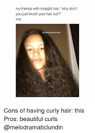 Frizzy Hair Meme - why does curly hair get frizzy when you brush it short curly hair