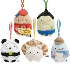 baby keychains sumikko gurashi 5th anniversary plush keychains japanla