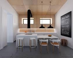 cuisine moderne et design cuisine en bois moderne et blanche en 33 exemples