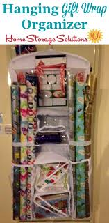 hanging gift wrap organizer hanging gift wrap organizer store wrapping paper for easy access