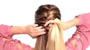 tutorial kepang rambut frozen kepang sederhana ala wanita prancis vidio com