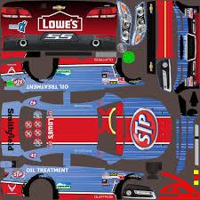 stp throwback car custom paint scheme by jose m trading paints