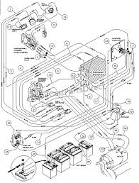 wiring carryall ii powerdrive electric vehicle club car parts