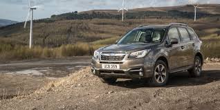 subaru forester interior 2017 subaru forester review carwow