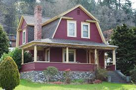 red exterior houses exterior color schemes red paint colors