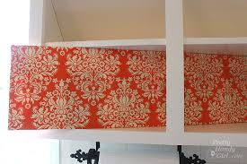 Damaged Kitchen Cabinets For Sale Fabric Covered Foam Board For Back Of Cabinets Genius Makes It