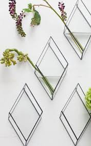 Hanging Glass Wall Vase Best 25 Wall Mounted Vase Ideas On Pinterest Rustic Kids Wall