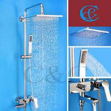 Bathroom Shower Set Bathroom Shower Mixer Tub Faucet Shower Set With Brass Shower