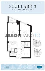 One Bloor Floor Plans by Lotus 8 Scollard St Toronto Condos Lofts
