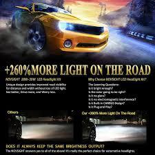 novsights led light for car led headlights led car bulbs