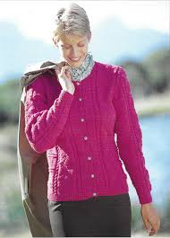 sirdar 5760 cardigan knit in sirdar country style dk 3 weight