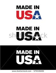vector made usa icon stock vector 579536689