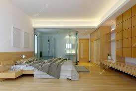 modern hotel bathroom modern hotel bedroom with bathroom u2014 stock photo el doctore