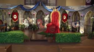 Medieval Decorations by Kingdom Rock Arches Decorating Vacation Bible 2013 Easy
