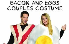 Eggs Bacon Halloween Costume Ten Couple Halloween Costumes