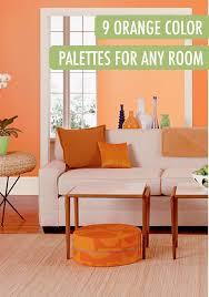 colorful l shades living room light orange kitchen walls room living colors paint