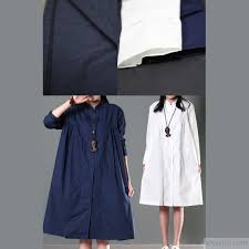 navy blue blouse navy blue oversize linen shirt dress plus size cotton blouse top5 jpg