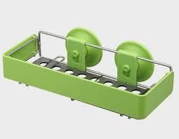 Kitchen Sink Tray Holder Sponge Soap Premium Shelf Dual Vacuum - Kitchen sink sponge holder