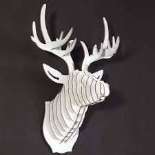 26 best wooden wall hangings images on animal heads