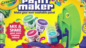 crayola paint maker review buy crayola paint maker online youtube
