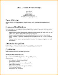 12 medical administrative assistant resume no experience office