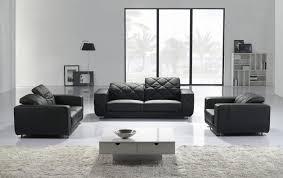 Stylish Sofa Set In Black Leather LEATHER SOFA SETS Pinterest - Stylish sofa sets for living room