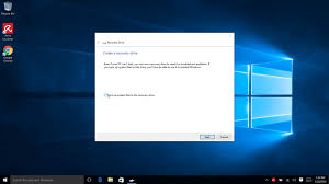 how to create an image backup in windows 10 and restore it if