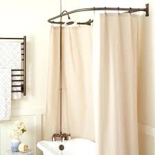 Clawfoot Tub Shower Curtain Liner Clawfoot Tub Shower 483773 D Ring Conversion Kit Rubbed Bronze