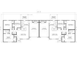 Multi Family House Plans Duplex Wildbrook Acres Ranch Duplex Plan 055d 0396 House Plans And More