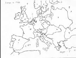 Labeled Map Of Europe by Map Quiz I Europe After Congress Of Vienna 1815