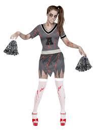 Zombie Cheerleader Zombie Cheerleader Halloween Costume Adults Costumes And Fancy
