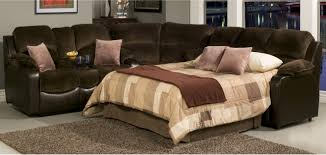 sectional sofas with sleepers casual styled reclining sectional sofa with sleeper living rooms