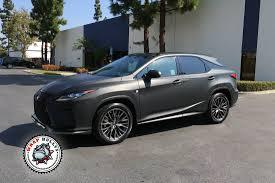 lexus black 2016 lexus rx matte black auto wrap wrap bullys